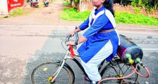 Odisha girl invents air bike