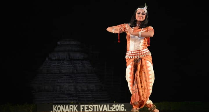 Archita Sahu performance at Konark Festival