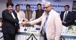 NTPC, NALCO sign MoU for Gajamara power plant