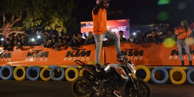 KTM hosts Orange day