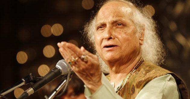 Classical singer Pandit Jasraj