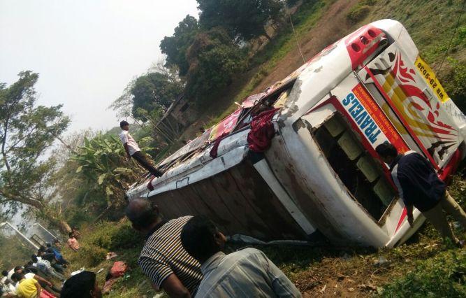 Dhauli bus accident