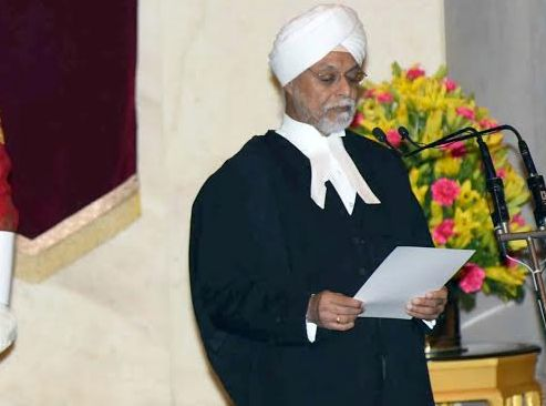 Chief Justice Jagdish Singh Khehar