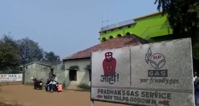 gas agency of Petroleum minister Dharmendra Pradhan's brother