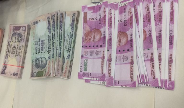 Fake currency racket