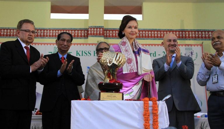 KISS Humanitarian Award conferred on Hollywood actress Ashley Judd