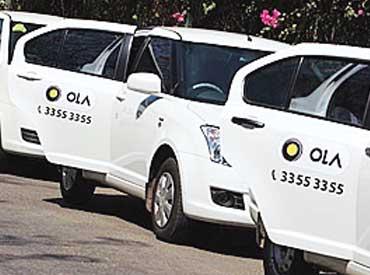 Ola, Uber cabs