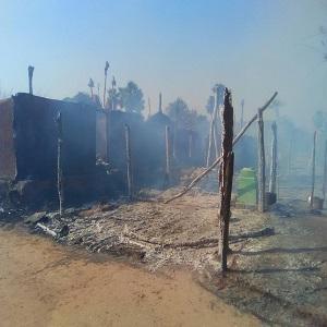 Fire in Dhenkanal