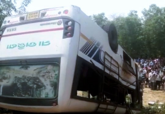 Mayurbhanj bus accident