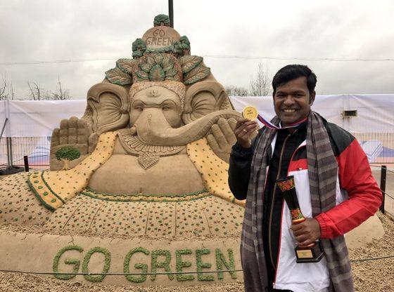 Sudarsan wins jury prize gold medal