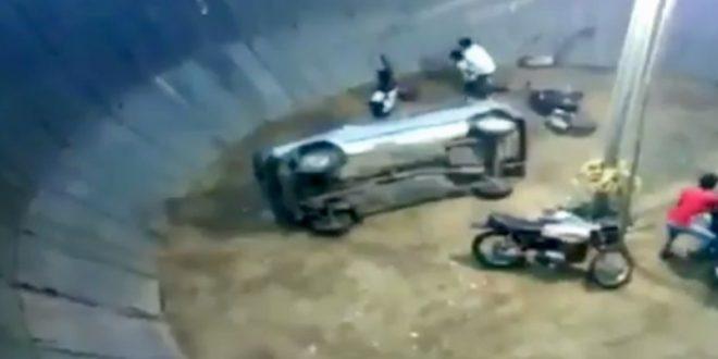 Biker killed inside Maut Ka Kuan