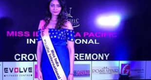 Sonika Roy crowned Miss Asia Pacific International India 2017
