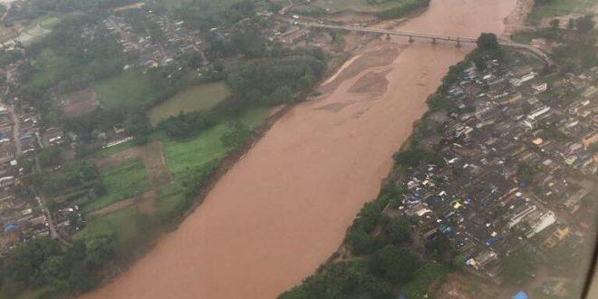 Flood situation in Odisha