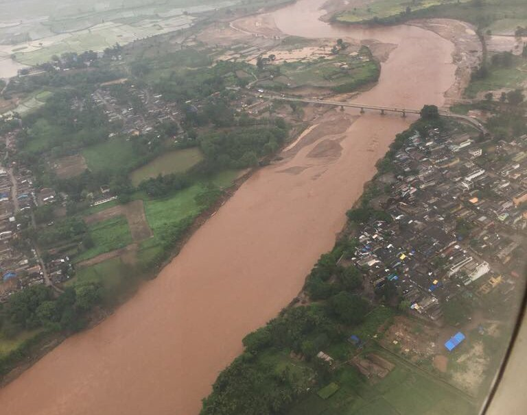 Flood situation in Odisha