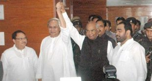 Ram Nath Kovind in Odisha