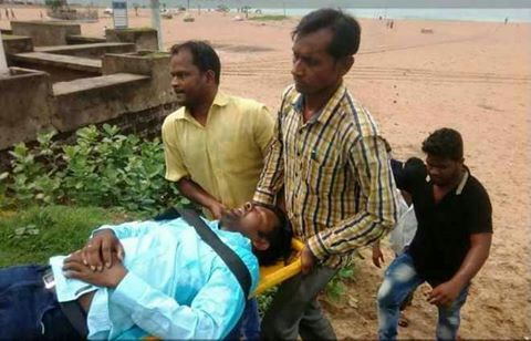 Sudarsan Pattnaik hospitalised