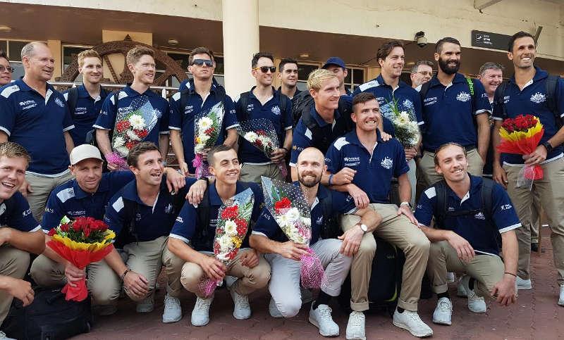 Australian Men's Hockey Team at Odisha Men's Hockey World League Final Bhubaneswar 2017