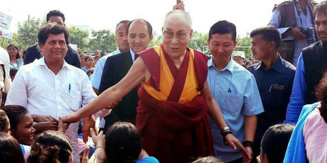 Dalai Lama gets KISS Humanitarian Award-2017