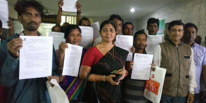 house allotment letters to slum dwellers