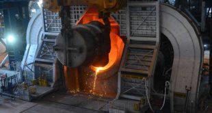 Basic Oxygen Furnace at Angul steel plant