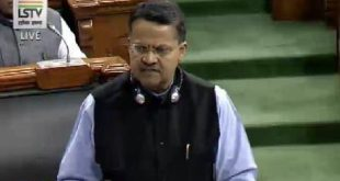 Bhartruhari Mahatab selected for Outstanding Parliamentarian Award 2017