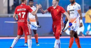 England beat India in HWL Final
