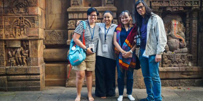 Filipino poets, Indian military officials explore Odisha's heritage in 54th Ekamra Walks