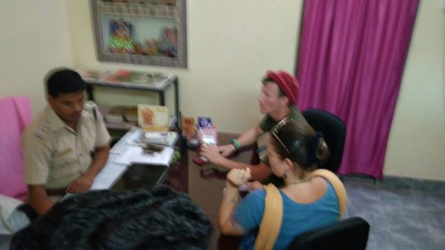 Russian nationals in Puri