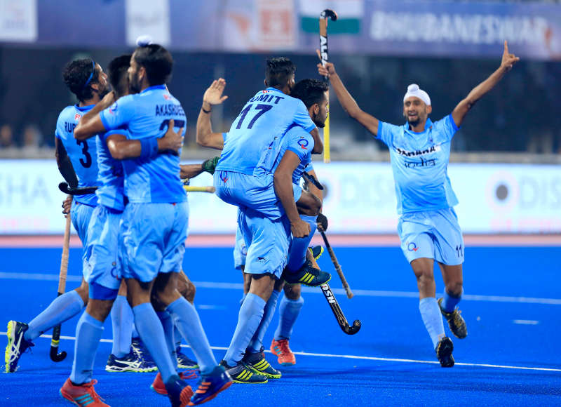 India enter semifinal in HWL Final