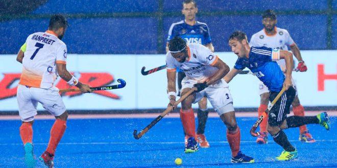Argentina beat India in semifinal