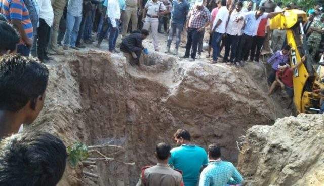 Radha rescued alive from borewell
