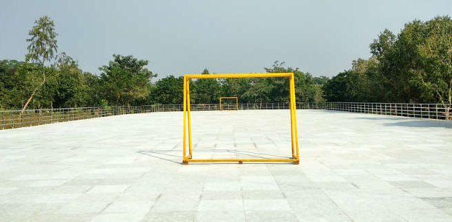 Roller skating rink at Buddha Jayanti Park