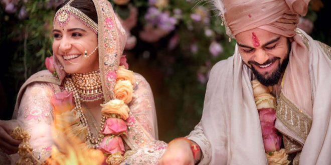 Virat, Anushka wedding