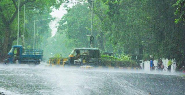 Deep depression to bring rain