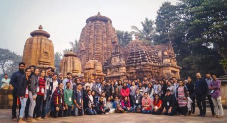 Students from Mangalore join XUB to learn Kalingan temple style