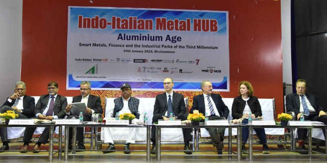 Italian delegation shows interest in investing in Angul Aluminium Park