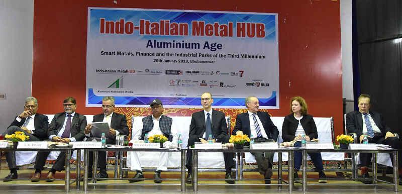 Italian delegation shows interest in investing in Angul Aluminium Park