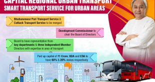 Odisha govt approves Capital Region Urban Transport