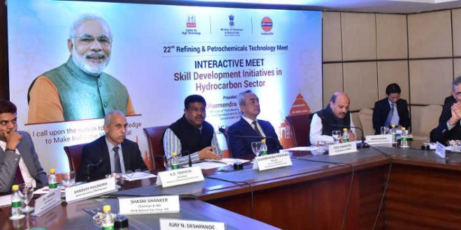 Dharmendra Pradhan holds interactive meet with global companies on skill initiatives