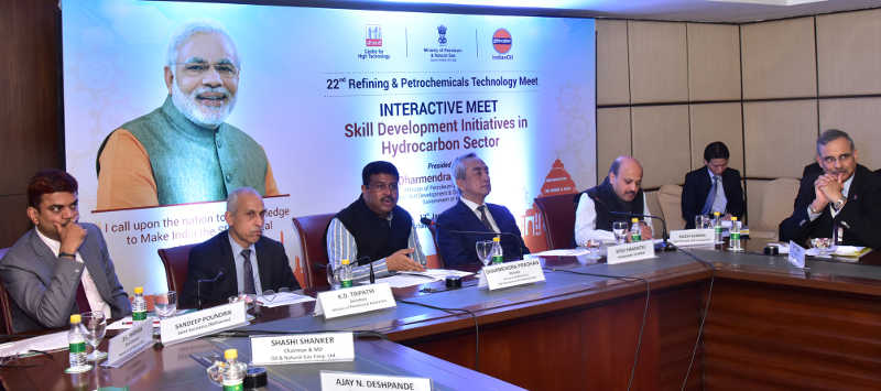 Dharmendra Pradhan holds interactive meet with global companieson skill initiatives