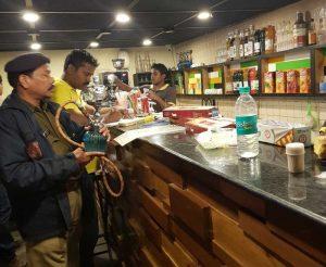 Police raid on Hooka bars in Bhubaneswar