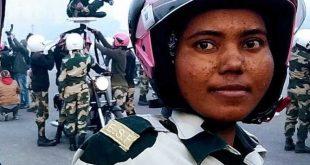 BSF's women daredevil biker team