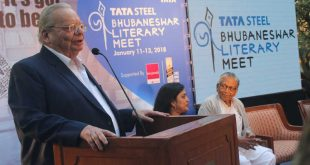Ruskin Bond at Tata Steel Bhubaneswar Literary Meet