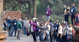 Doctors take time off to explore monuments through 60th Ekamra Walks