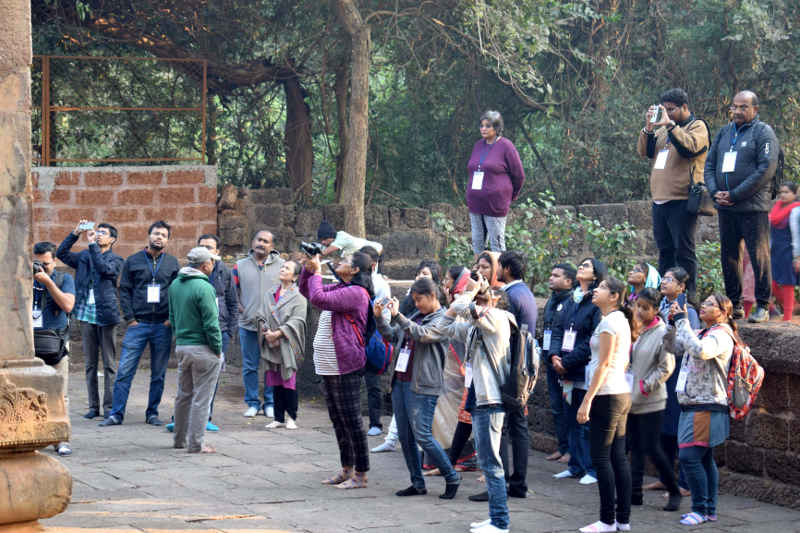 Doctors take time off to explore monuments through 60th Ekamra Walks