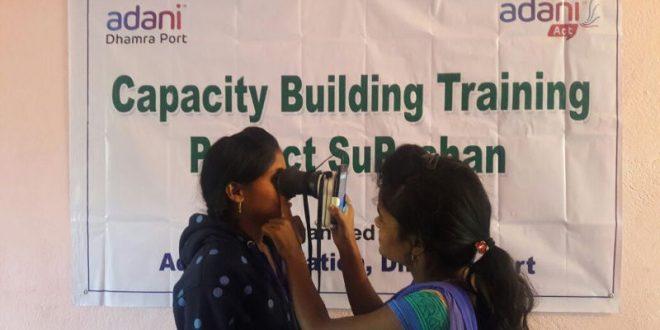 Dhamra Port organises training programme onHaemoglobin testing