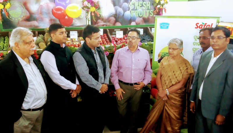Safal launches F&V retail operations in Sambalpur