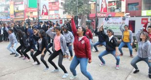 AIIMS Bhubaneswar students dance performance