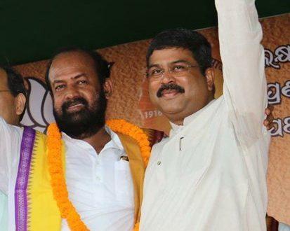 BJP candidate Ashok Panigrahi files nomination