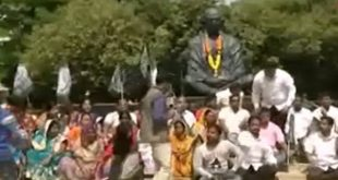 BJD stages protest over shoe attack on Odisha CM